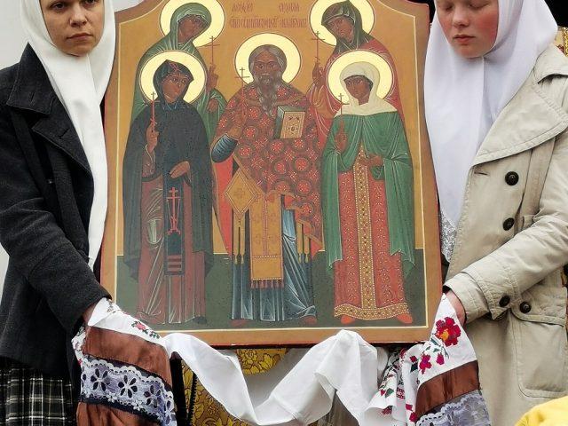 The 11 memorial procession of the boyarina Morozova