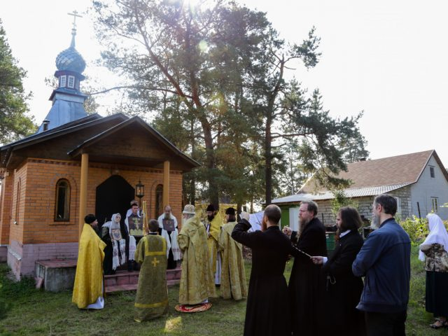 """""""By the Divine Providence"""". After 20 years of construction a church is consecrated"""