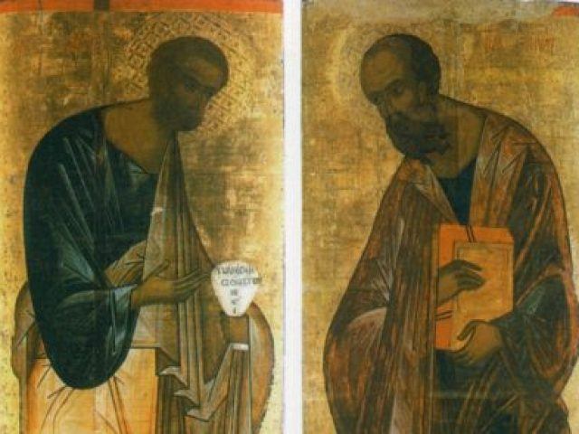 Sermon for the Day of Commemoration of Holy Glorious and Worthy of All Praise Highest Apostles Peter and Paul