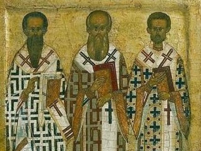 Sermon for the Day of Commemoration of the Three Holy Hierarchs: Basil the Great, Gregory the Theologian and John Chrysostom