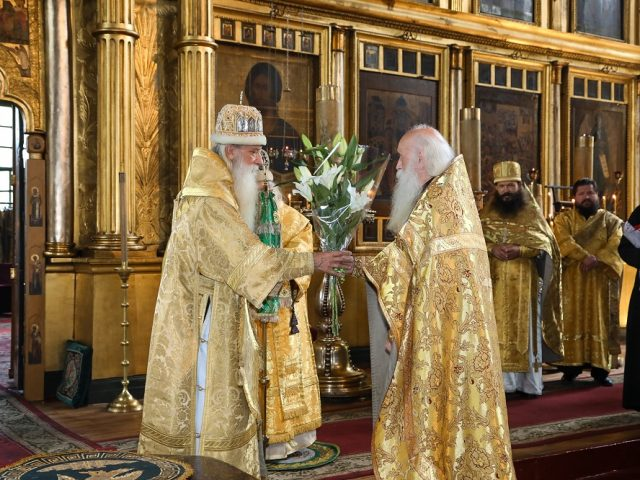 Metropolitan Korniliy celebrated his Name Day