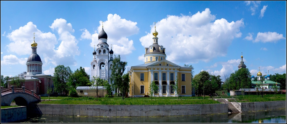 The spiritual centers of old-believers