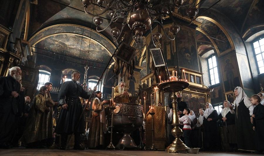 The church feast day of the Saint Nicholas side-chapel at Rogozhskoe