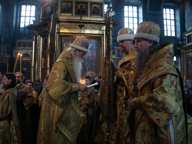 The episcopal consecration of the newly-appointed bishop Andrei of the Samara-Saratov Diocese
