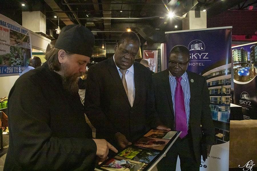 Meeting with the Ambassador of Uganda at the Uganda Expo - 2019