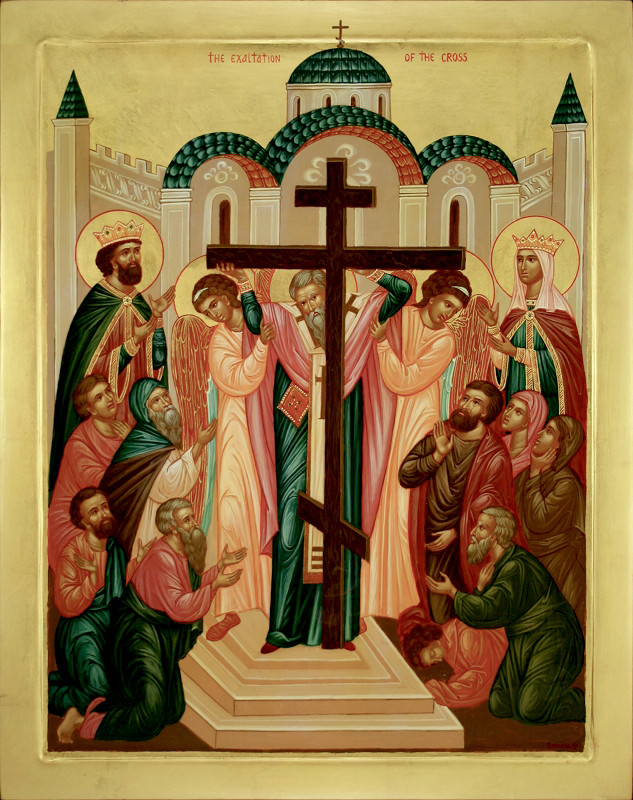 Sermon on the feast of the Exaltation of the Precious and Life-giving Cross of the Lord