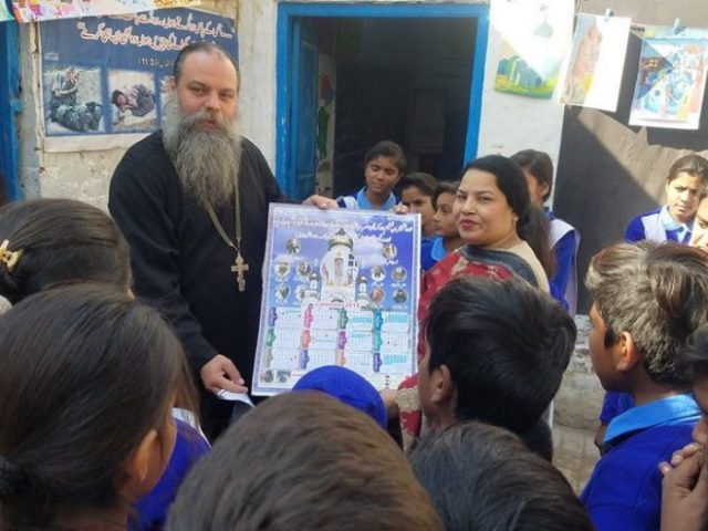 For the first time in history, the Orthodox calendar has been printed in Urdu in Pakistan