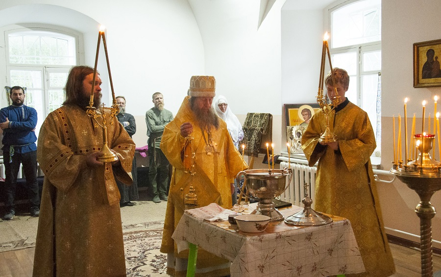 A new altar dedicated to prophet Elijah is consecrated in Nikola-Uleyma convent