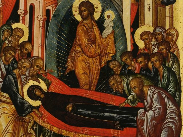 Sermon for feast of Dormition of our Most Holy Queen Mother of God and Ever Virgin Mary
