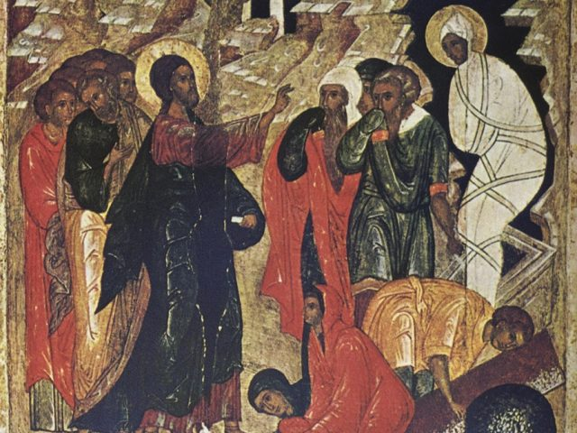 Sermon for the Saturday of the Resurrection of the Righteous Lazarus